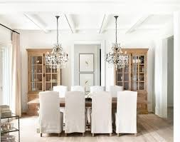 transitional dining room by kelly deck