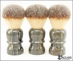 maggard razors 26mm synthetic shaving brush granite handle