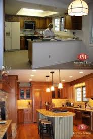 Updated Kitchens Turning A Small Ranch Into A Two Story House Kitchens House And