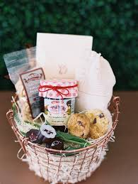 virginia gift baskets welcome gift marigold grey
