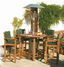 Patio Heater With Table Patio Table With Built In Heater Outdoor Leisure Bistro Table