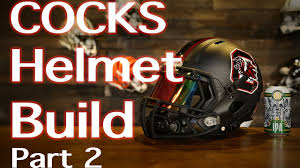 154 Best Gamecocks Images On Helmet Build South Carolina Gamecocks Custom Blackout Riddell