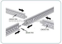 Drop Ceiling Grid by Wbm Sale Suspended Ceiling T Grid T 24 Width System Buy