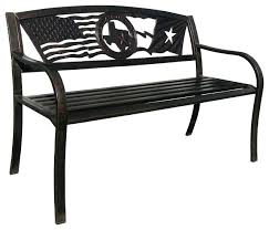 metal bench es outdoor frame no back snowboard