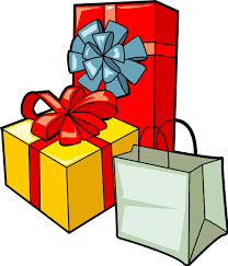 wrapped christmas boxes christmas gift boxes clip happy holidays