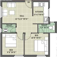 Simple House Plans 600 Square Peaceful Ideas 600 Square Feet 2 Bhk Free House Floor Plan Images