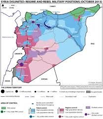 Syria Map by What U0027s Happening In The Syrian War Maps Business Insider