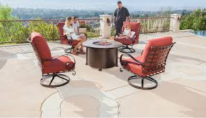 Chicago Wicker Patio Furniture - o w lee luxurious outdoor casual furniture u0026 fire pits