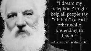 facts about alexander graham bell s telephone alexander graham bell today in history