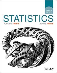Real Time Video Stats Barney by Statistics 10th Edition 10 Robert S Witte John S Witte