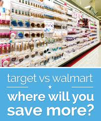 target vs walmart where will you save more thegoodstuff