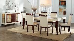 dining room sets sofia vergara savona ivory 5 pc rectangle dining room dining