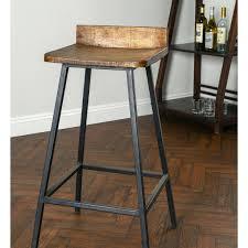 bar stools mango wood and metal bar stools small metal and wood
