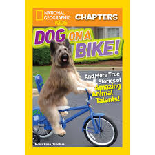 national geographic kids chapters dog on a bike national