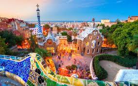 travel wallpaper architecture spain city art park travel barcelona attractions