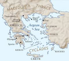Map Of Crete Greece by Interpretive Resource The Art Institute Of Chicago