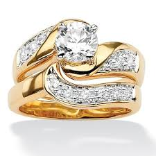 overstock wedding ring sets overstock wedding rings oliveti sterling silver 4 75ct tw radiant