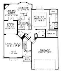 tudor style house plan 1 beds 2 00 baths 1350 sq ft plan 20 1647