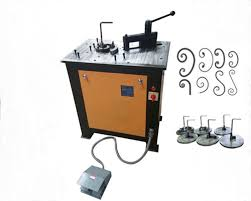 ornamental scroll bender machine for flat iron iron