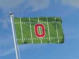 Ohios State Flag Flag Of Ncaa Collage Football Ohio State Buckeyes Logo