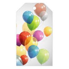 balloons gift happy birthday balloons gift tags zazzle