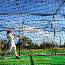 fortress mini baseball batting cage net world sports