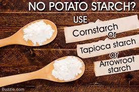potato starch running of potato starch here are some substitutes