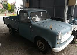 japanese nissan pickup curbside classic 1959 datsun 1000 211 pick up u2013 the first step