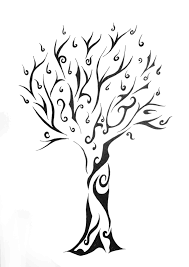 tribal tree for a friend by nothing4free on deviantart