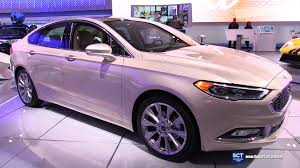 ford fusion 2017 interior 2017 ford fusion platinum exterior and interior walkaround
