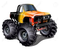 bigfoot monster truck pictures free clip art of monster truck clipart 2849 best orange monster