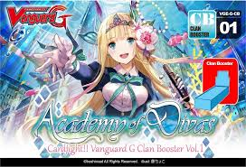 cardfight vanguard cardfight vanguard academy divas booster case 24 potomac
