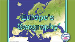 Europe Physical Features Map by 2014 Brain Wrinkles Standards Ss6g8 The Student Will Locate