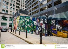 Mural Arts Philadelphia by Mural Arts Philadelphia Pennsylvania Editorial Stock Photo