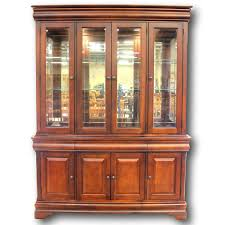 mahogany china cabinet furniture american drew mahogany china cabinet upscale consignment