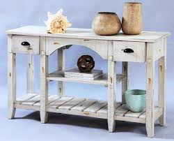 distressed white console table distressed white console table with l console table getting