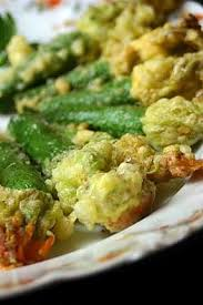 cuisiner fleurs de courgettes recette de tempura de fleurs de courgettes