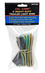 amazon com 4 u0027 heavy duty trailer light wire home u0026 kitchen