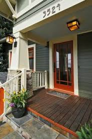 a 1930 craftsman house transformed porch flooring charcoal
