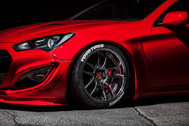 top speed hyundai genesis coupe hyundai teams up with blood type racing to debut