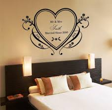 romantic home decor romantic wall decals for bedroom home design ideas
