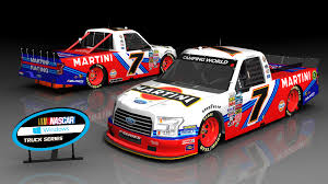 martini rossi racing nascar windows truck series presented by camping world sim