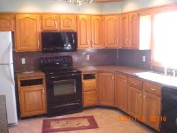 Kitchen Design Oak Cabinets by Red Oak Cabinets Kitchen Homes Design Inspiration
