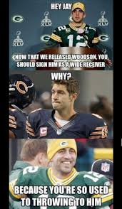 Funny Packers Memes - here s the charles woodson to the chicago bears meme