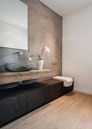 Design Bathroom Baños Revestidos Con Cemento Pulido Interiors Bath And House
