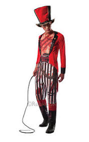 Lion Tamer Halloween Costume Rubies Adults Mauled Ringmaster Halloween Circus Lion Tamer Fancy