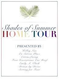 shades of summer home tour with neutrals and naturals kelley nan