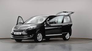 used renault grand scenic 1 5 dci dynamique tomtom 5dr black