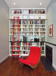 Rolling Ladder Bookcase Aim High What To Know About Adding A Library Ladder
