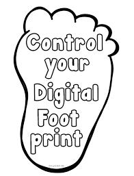 digitally inspired media digital citizenship poster for elementary classrooms citizenship